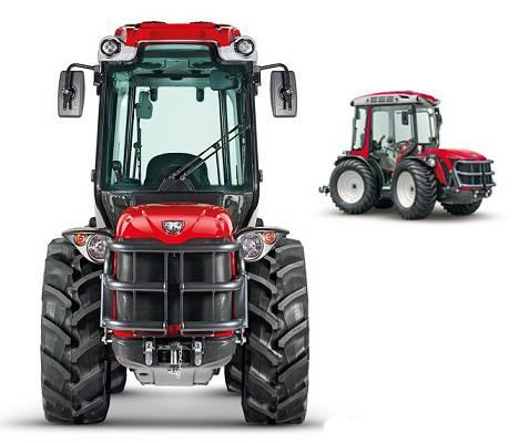 Foto de Tractor articulado compacto reversible