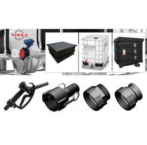 Foto de Adaptadores para válvula de salida de contenedores IBC/GRG