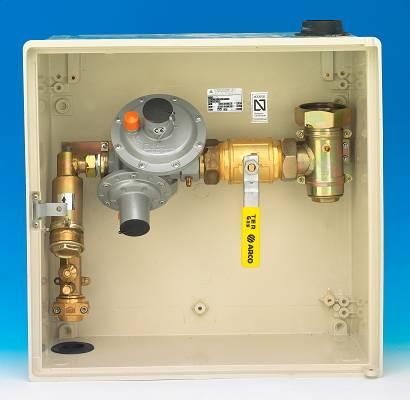 Foto de Armarios de regulación para gas MPB