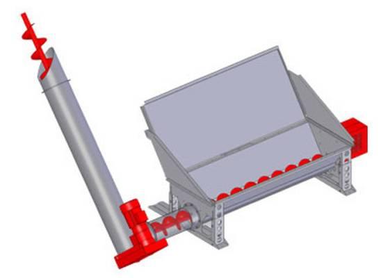 Foto de Sistema de llenado vertical de astilla