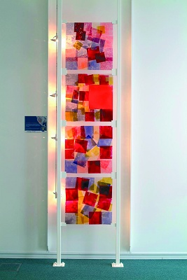 """Foto de """"La última innovación en arte moderno sobre vidrio"""""""