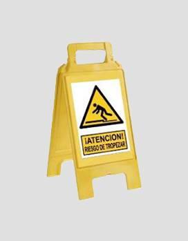 Foto de Caballetes de advertencia y señalización
