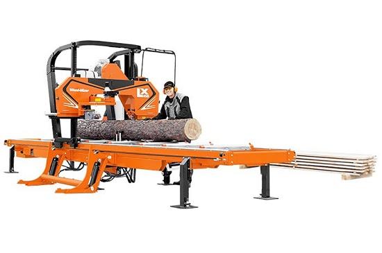 Foto de Aserradero de troncos de madera
