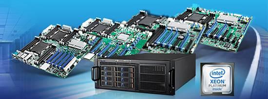 Foto de Placas Intel Xeon Scalable para servidores