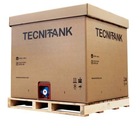 Foto de Contenedores de cartón para transportar líquidos