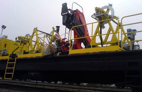 Foto de Grúas ferroviarias ligeras