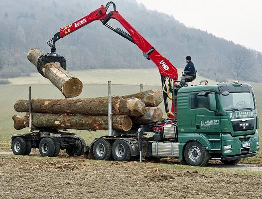 Foto de Grúas forestales y para reciclaje
