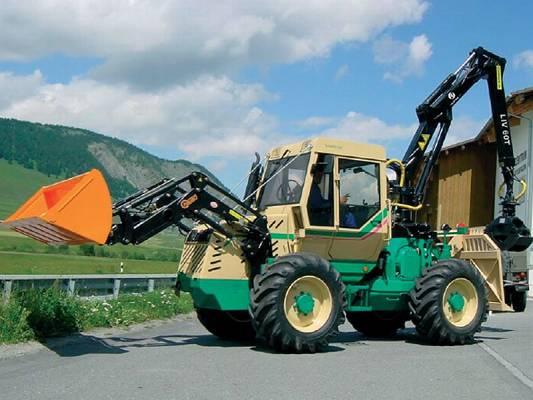 Foto de Grúas forestales para tractor