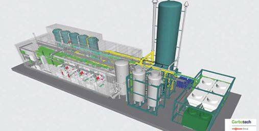 Foto de Plantas de enriquecimiento de biogás (Upgrading)