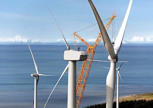Foto de Servicios especializados para equipos eólicos