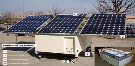Foto de Planta potabilizadora solar