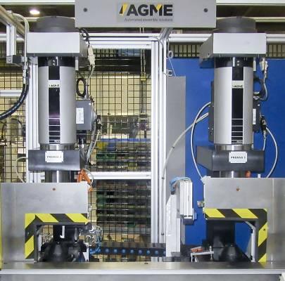 Foto de Cabezales de prensas eléctricas