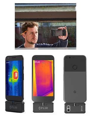 Foto de Cámara termográficas para dispositivos móviles