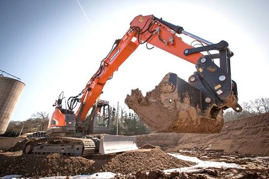 Foto de Excavadoras de orugas medianas