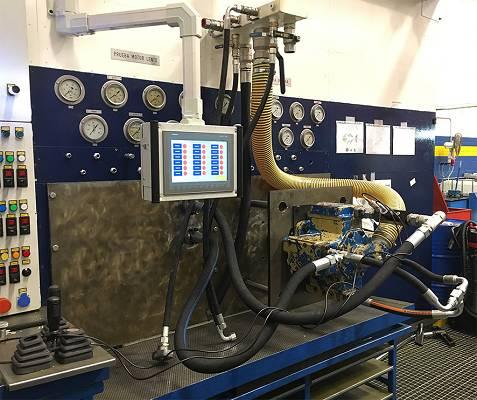 Foto de Bancos de pruebas hidráulicas