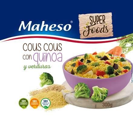 Foto de Cous cous con quinoa y verduras