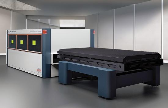 Foto de Máquinas de corte por láser de fibra con cambio de mesa automático