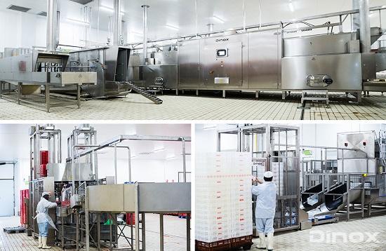Foto de Líneas automáticas de lavado de cajas para la industria alimentaria