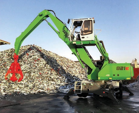 Foto de Manipuladoras de materiales reciclables