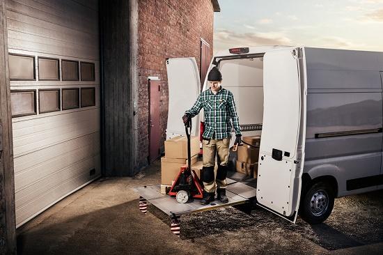 Foto de Elevadores flexibles para furgonetas