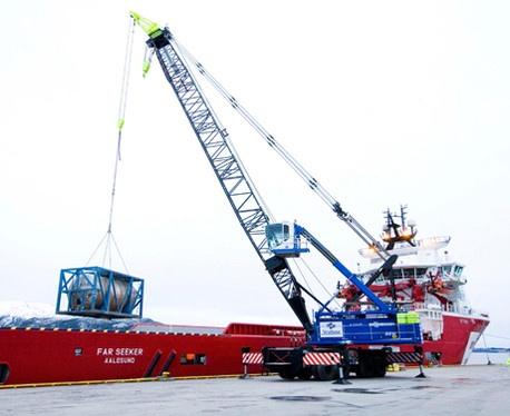 Foto de Grúas portuarias móviles