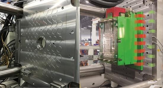 Foto de Imanes magnéticos para cambio rápido de moldes de inyección
