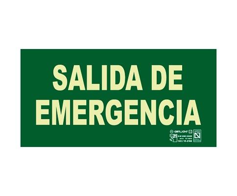 Foto de Señales de salida de emergencia