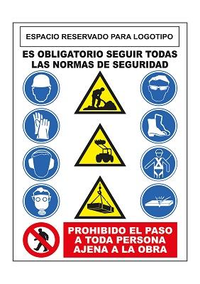 Foto de Cartel de seguridad