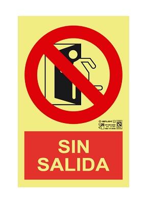 Foto de Señalización 'Sin salida'