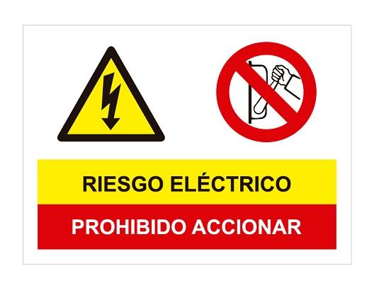 Foto de Señalización de advertencia prohibición