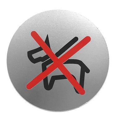 Foto de Placas informativas prohibido perros