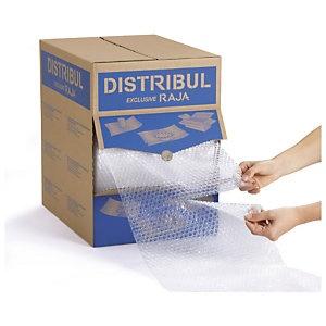 Foto de Film plástico de burbujas precortado en caja distribuidora