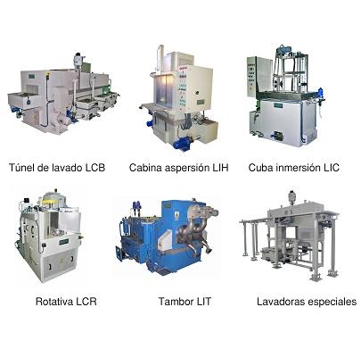 Foto de Lavadoras industriales para tratamientos y acabados superficiales