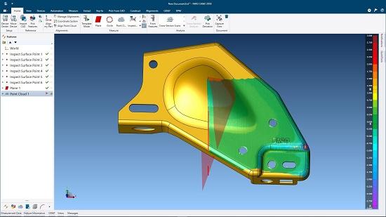 Foto de Plataforma de software de medición 3D