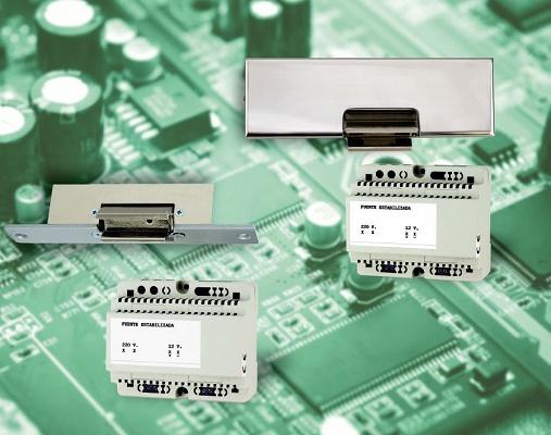 Foto de Cerraderos eléctricos articulados