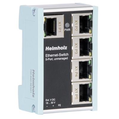 Foto de Switch Ethernet de 5 puertos no gestionado