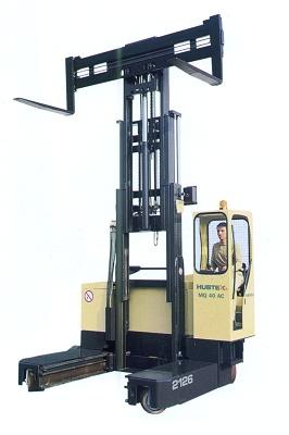 Foto de Carretilla elevadora eléctrica