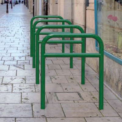Foto de Barandillas bicicletas reforzadas