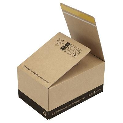 Foto de Cajas de cartón con cierre autoadhesivo