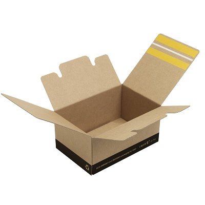 Foto de Cajas de cartón con fondo automático