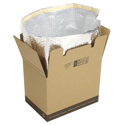 Foto de Cajas de cartón con temperatura controlada