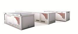 Foto de Módulos para salas eléctricas prefabricadas