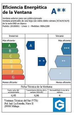 Foto de Etiqueta energética