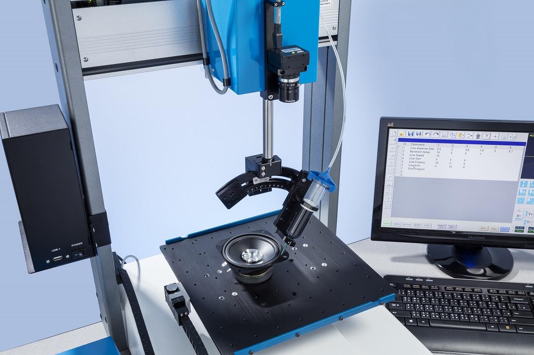 Foto de Sistema de dosificación automatizada de 4 ejes