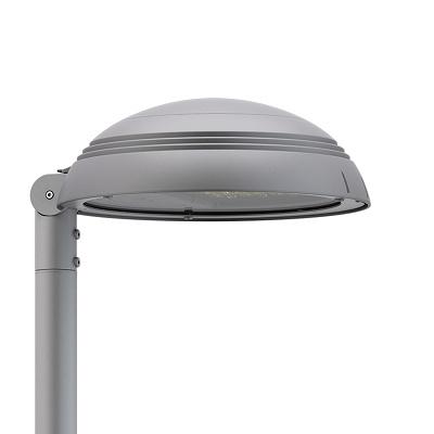 Foto de Luminaria LED de diseño circular y minimalista