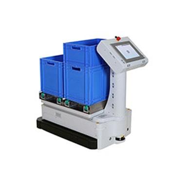 Foto de Robots para vehículos de guiado automático (AGV)