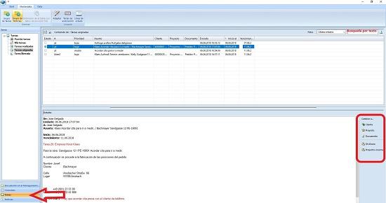 Foto de Software para organizar los procesos y distribución de recursos en cada proyecto