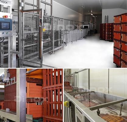 Foto de Línea de lavado de jaulas y carros avícolas