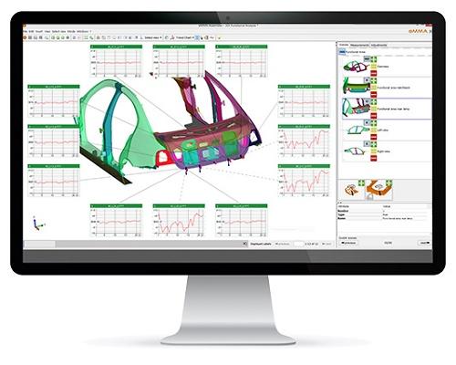 Foto de Software de análisis y administración de datos dimensionales