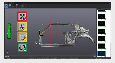 Foto de Módulo de software de inspección dimensional